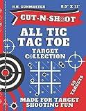 HHGunmaster Cut-N-Shoot - Shooting Target Book All Tic Tac Toe: Over 50 Fun Paper Targets Designed for BB, Pellet, Air-soft, Pistol, Shot Gun, Rifle & ... Cut-N-Shoot Target Book Collection)