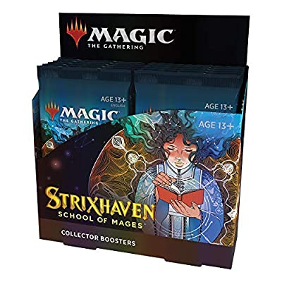 Magic The Gathering Strixhaven Collector Booster Box | 12 Packs (180 Magic Cards) from Wizards of the Coast