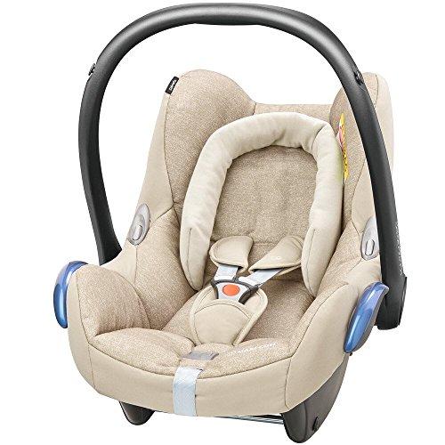 Maxi Cosi 8617332120 Cabriofix Babyschale Gruppe 0+ (0-13 kg), mit Isofix, braun