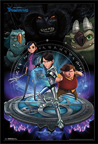 "Trends International Trollhunters Group Wall Poster 22.375"" X 34"""