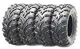 Set of 4 New WANDA ATV/UTV Tires 24x8-12 Front & 24x10-11 Rear /6PR P373 …
