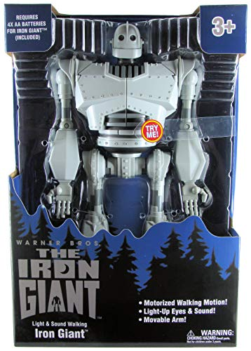 The Iron Giant Light & Sound Walking Robot Toy, 15u0022