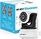 WiFi IP Security Camera indoor - GENBOLT 1080P Wireless Baby Monitor Nanny Pet Dog Cam for Home Surveillance,2-Way Audio Loop Recording,Customizable Motion Detection,Instant Image Activity Alert(2021)