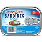 Chicken of the Sea Sardines In Water, 3.75 Ounce (Pack of 18)