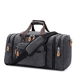 Image of Plambag Canvas Duffle Bag...: Bestviewsreviews