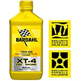 BARDAHL XT-4 C60 Racing 10W60 Lubrificanti Olio Motore Moto 4 Tempi Per Impieghi Sportivi 1 LT