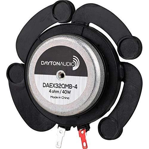Dayton Audio DAEX32QMB-4 Quad Feet Mega Bass 32mm Exciter 40W 4 Ohm
