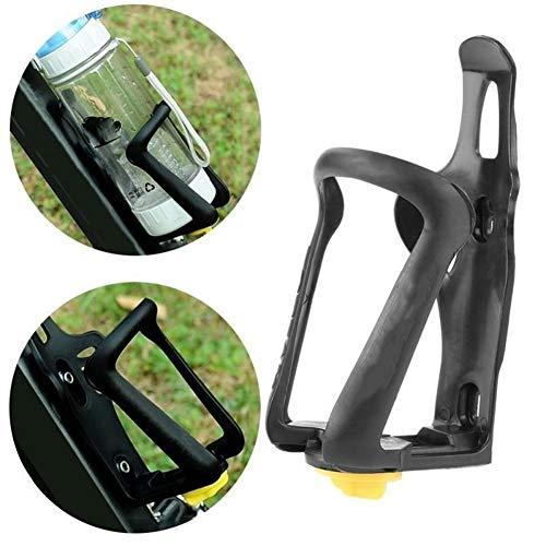 CHEdnh-Hk Portabotellas para Bicicletas La Bicicleta de Ciclo de la Bicicleta Beber Agua Titular de la Botella de Montaje en Bastidor for Mountain Bike Jaula Plegable Apto para Ciclismo al Aire Libre