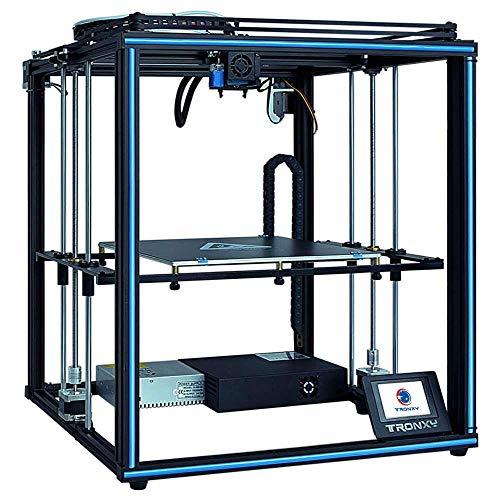 TRONXY XY-2 PRO mit Titan Extruder 3D-Drucker Prusa I3 255 255 245 mm, schnell und einfach zu installieren und zu verwenden, Filamentdetektor und Auto Level, für Anfänger, Bildung und Heim, PLA TPU