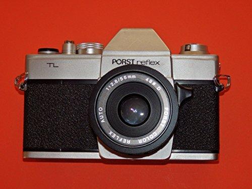 Spiegelreflexkamera Fotoapparat PORST Reflex TL - SLR Camera incl. Objektiv - PORST Color Reflex Auto 1:2.8/55mm Ø 49# Technik - ok - by LLL ##