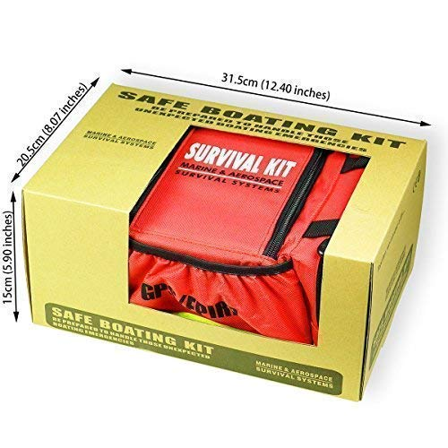 Goglobe Boat Safety Kit for Boating Sailing Kayaking Fishing Marine Safety Required by Coast Guard