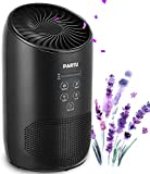 Product Image of the PARTU HEPA Air Purifier - Smoke Air Purifiers for Home with Fragrance Sponge - 100% Ozone Free, Lock Set, Eliminates Smoke, Dust, Pollen, Pet Dander, (Available for California)