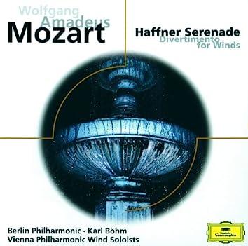 Mozart: Haffner Serenade; Divertimento KV 186