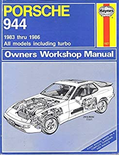 Porsche 944 Owners Workshop Manual: All Porsche 944 Models, Including Turbo 1983 Through 1986