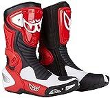 Berik Race-X Racing Stivali da moto 43 Rosso/Bianco/Nero