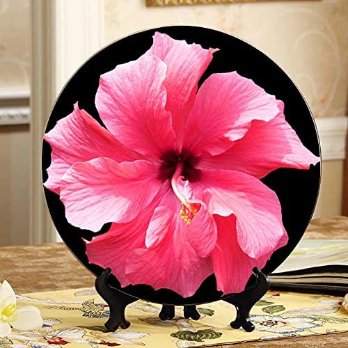 AQQA Hibiscus Pink Tropical Flower Floral 2021 spring and summer Oakland Mall new Isolated Decorating Pl