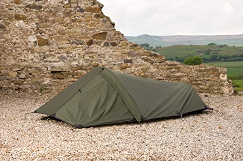 Snugpak | Ionosphere | Shelter | 1 Person | 5000mm 100% Waterproof Outer (Olive)