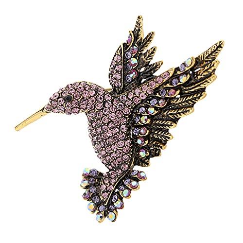 Tomaibaby Unid Broche de Pájaro Unisex Unisex Birdie Collar de Pájaro Pin Accesorios de Broche Broche para Camisas Mujeres Hombres