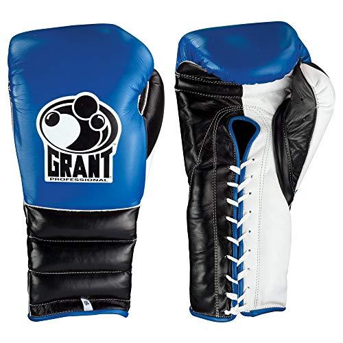 GRANT Guantes de boxeo (azul y negro, 16 onzas)