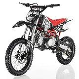 Apollo DB-X18 125cc Dirt Bike Black