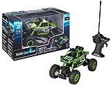 Revell Control 24486 - RC Car mit 4WD Allradantrieb, ferngesteuertes Auto, Crawler mit 40 MHz Pistolenfernsteuerung, robustes Chassis, griffige Geländereifen, große Achsverschränkung - XS CRUSHER -