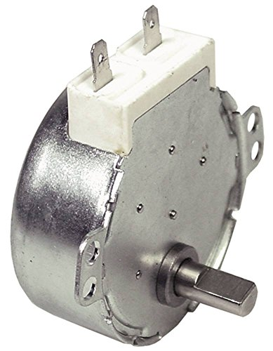 TEMPOMATIC TY49-II Getriebemotor für Vitrine Roller-Grill 230V 4W 2,5U/min 50Hz Welle ø 5,4x7mm Geschwindigkeiten 1 AC