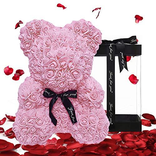 Rose Handmade Teddy Bear