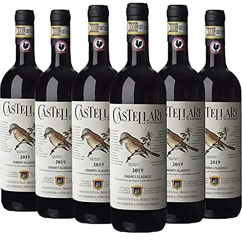Castellare di Castellina Chianti Classico Docg Vino Rosso - Cassa Da 6 Bottiglie - 4500 ml