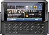 Nokia E7–00Smartphone (10,2cm (4pollici) Clear Black Touchscreen AMOLED, tastiera QWERTZ, fotocamera 8MP, GPS, WiFi, mappe OVI, HDMI, presa 3,5mm) Dark Grey