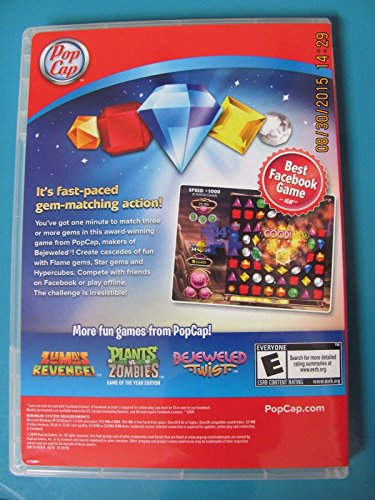 PopCap Bejeweled Blitz for Windows PC Video Game