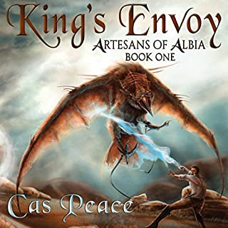 King's Envoy audiobook cover art