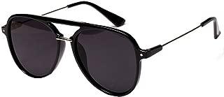 Danse Jupe Color Lens Sunglasses Stylish Aviator Eyewear Metal Sunglasses