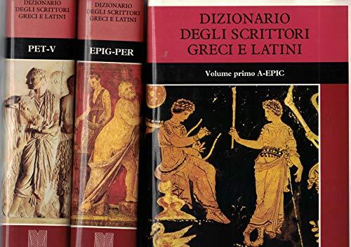 Dizionario degli scrittori greci e latini