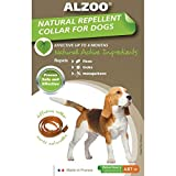 Alzoo Natural Flea & Tick Medium Dog Collar
