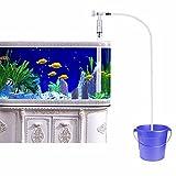Berrose Aquarium Wasserwechsler Kies Vakuum Siphon Sand Reiniger Filterpumpe