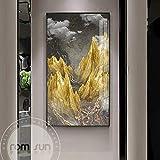 N / A Pintura sin Marco Paisaje Abstracto exitoso Road Poster Post Modern Canvas Art Living Room Pasillo decoración Pintura al óleo ZGQ7180 60X110cm
