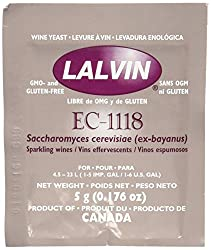 Lalvin Dried Wine Yeast EC 1118 (Pack of 10)