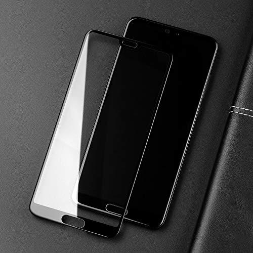 SmartDevil Huawei P20 Panzerglas Schutzfolie [2-Stück] [mit Installation Werkzeug] [Full Glue Coverage] 9H Härte,Blasen und HD Anti-Öl,Panzerglas Schutzfolie für Huawei P20 (Schwarz) - 6