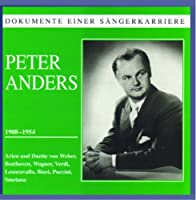Peter Anders Sings by VARIOUS ARTISTS (2005-01-25)