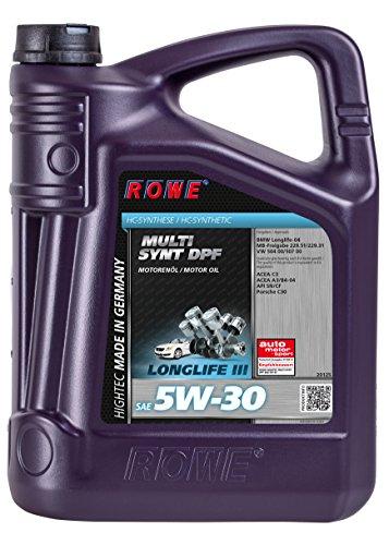 ROWE - 5 Liter HIGHTEC MULTI SYNT DPF SAE 5W-30 Motorenöl - vollsynthetisch (HC-Synthese)