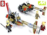 Clip: Lego Star Wars Cloud Rider Swoop Bikes Review Set 75215