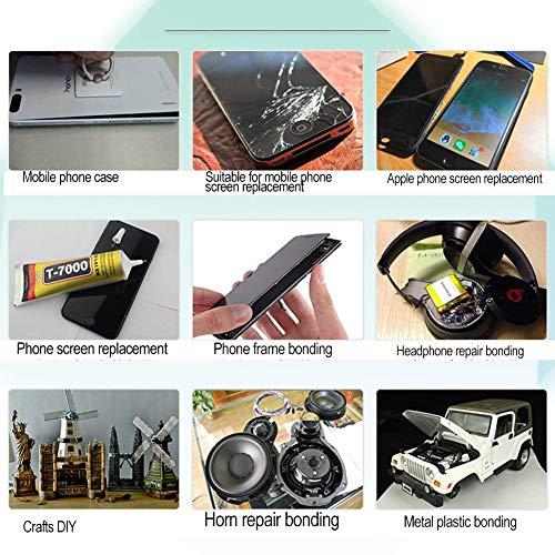 Juman634 T7000 Stärken Kleber Handyreparaturkleber Holzmaterialreparatur Keine Versprödung Tiefziehkleber Auto-Schönheitskleber