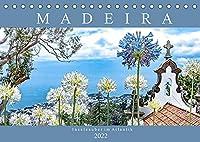 Madeira - Inselzauber im Atlantik (Tischkalender 2022 DIN A5 quer): Impressionen der Vulkaninsel im atlantischen Ozean. (Monatskalender, 14 Seiten )