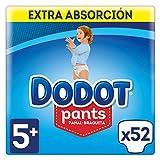 Dodot Pants Pañales Talla 5+ (12 - 17 kg) - 52 Pañales