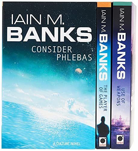 Iain M Banks Culture 25th Anniversary Bo