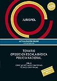 Temario oposición escala básica policía nacional: Vol II: Ciencias Sociales y Materias Técnico-Científicas (Derecho)