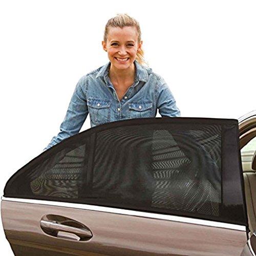 CH - Lot de 2 pare-soleil de voiture flexible pour bébé et animaux domestiques