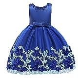 Feixunfan Mädchen-Hochzeits-Blumen-Mädchen-Kleid Neujahrskleidung, Kinderbekleidung, Weihnachten Prinzessin Kleid, Mädchenbekleidung, Kinderbekleidung Mädchen Blumenmädchen Prinzessin Kleid