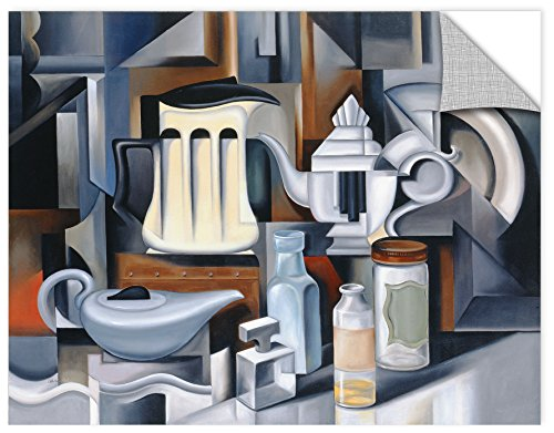 Catherine ABEL ''Still Life with Teapots'' Removable Wall Art Mural, 36X48