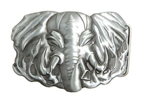 Elephant Lighter Holder Belt Buckle